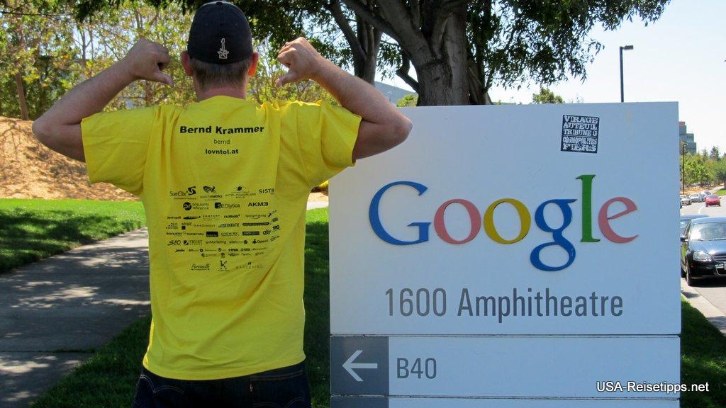 Silicon Valley  Die Adresse aus dem Impressum von Google.