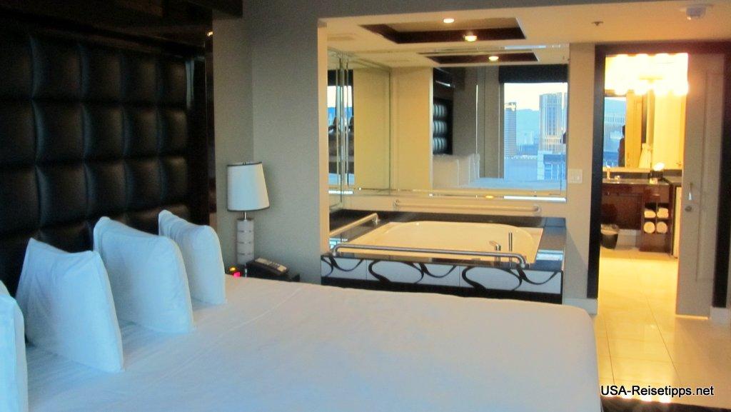 Las Vegas, NV Natürlich darf in Vegas ein Whirlpool im Schlafzimmer nicht fehlen.