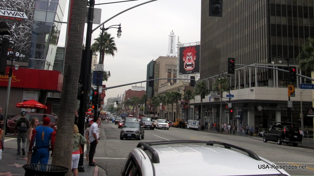 Los Angeles Hollywood Blvd.