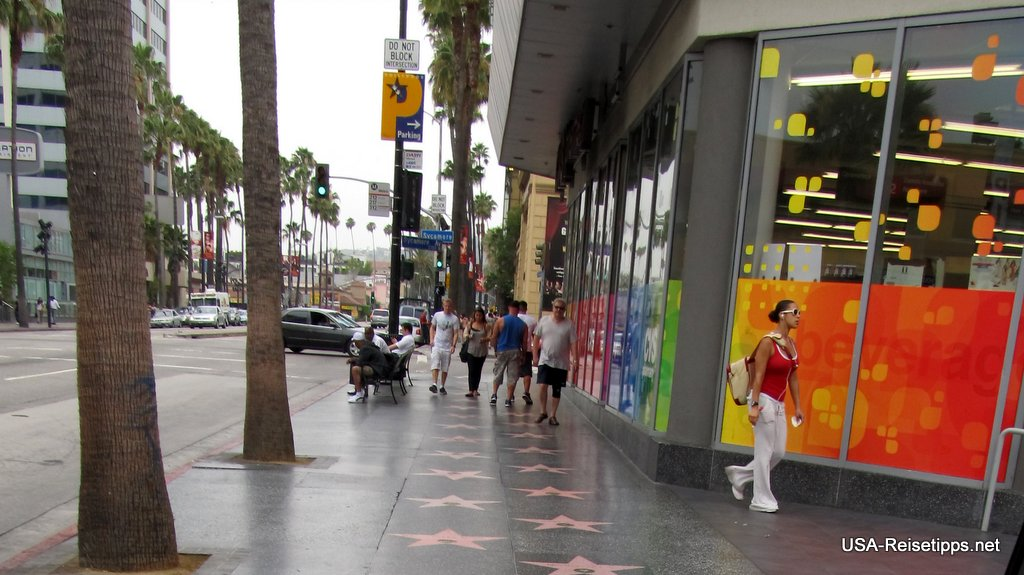 Los Angeles Walk of Fame.