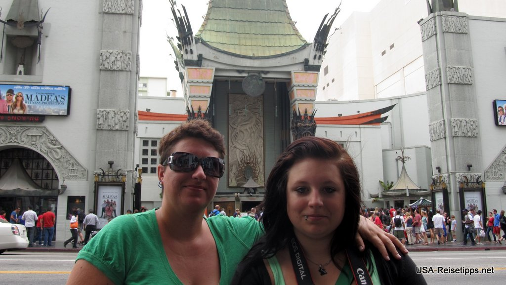 Los Angeles Chinese bzw. Grauman's Theater.