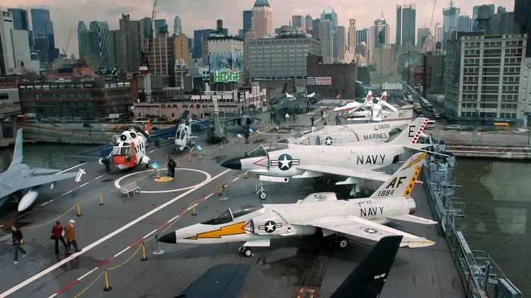 Das Intrepid Air & Space Museum in New York - USA Reisetipps