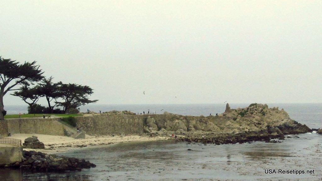 Pacific Coast Highway - California State Route 1 Der schönste Teil der Strecke beginnt bei Monterey.