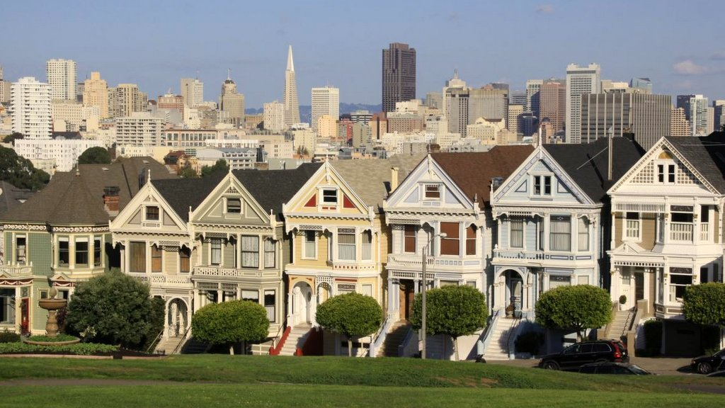 Top 10 Sehenswürdigkeiten in San Francisco Painted Ladies
